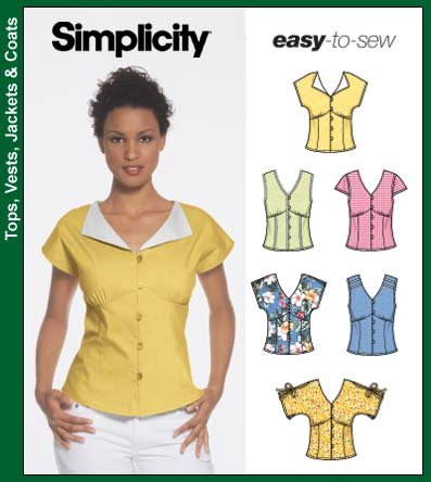 Simplicity Easy to Sew Tops 5059