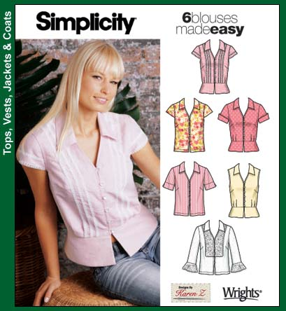 Simplicity 6 blouses made easy 5194