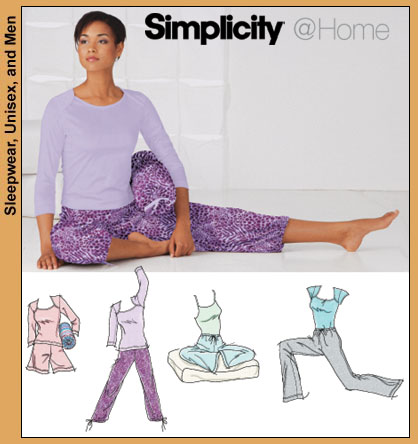 Simplicity yoga wear and accessories 5327