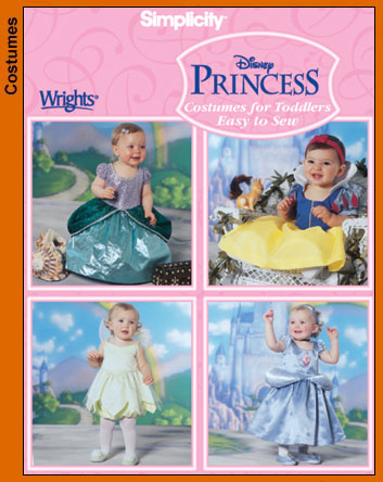 Simplicity Disney Princess costumes 5402