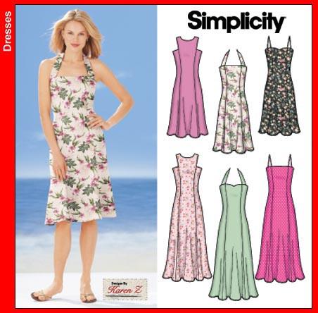 Simplicity 50s Sundress 5498