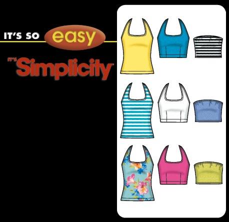 Simplicity Halter Top 5529