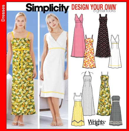 Simplicity 6 Dresses 5549