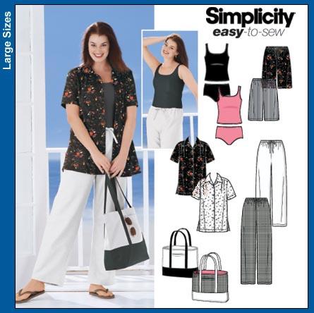 Simplicity Womens' shirt 5571