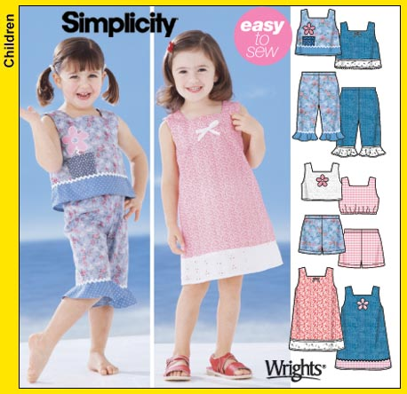 Simplicity Simplicity Easy to Sew 5575