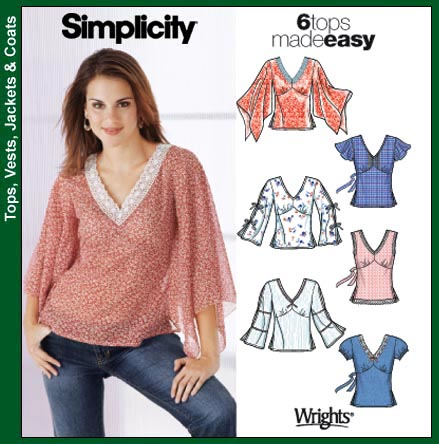 Simplicity 6 tops/ View F 5595