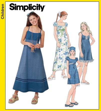 Simplicity Girl's Sundress 5656