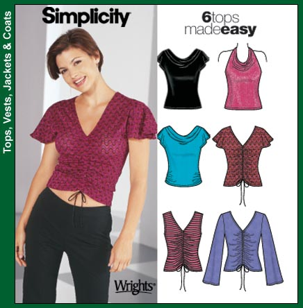 Simplicity 6 Tops Made Easy 5759