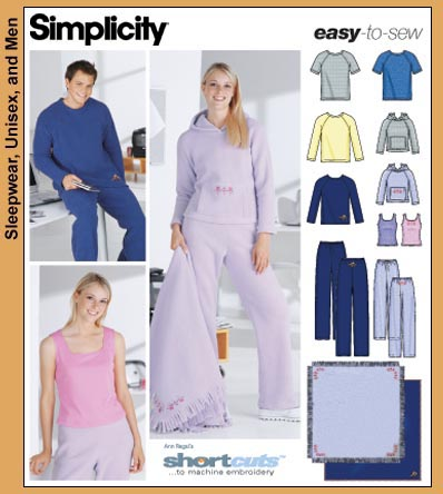 Simplicity Hooded sweatshirt, pants 5782