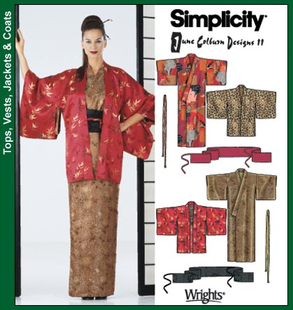 Simplicity Kimono 5839
