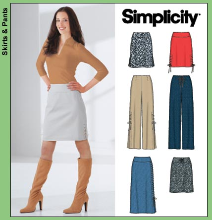 Simplicity Misses' skirts and pants 5861