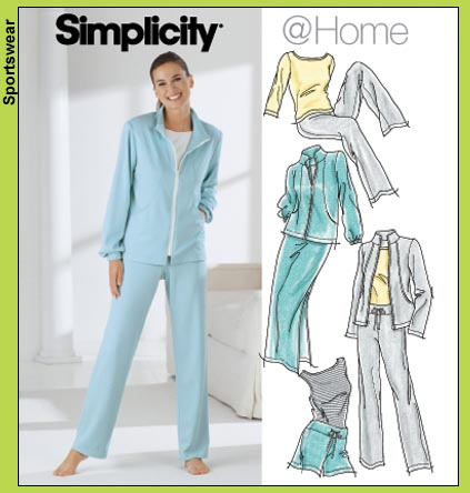 Simplicity Casual Knit Separates 5867