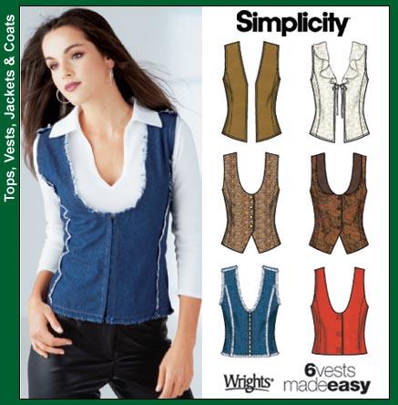 Simplicity Vest -F 5910