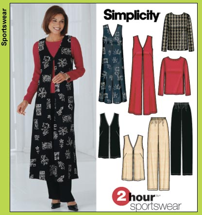 Simplicity 2 Hour Sportswear 5919