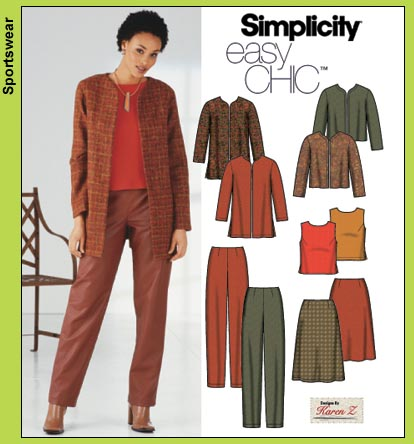 Simplicity Easy Chic 5921