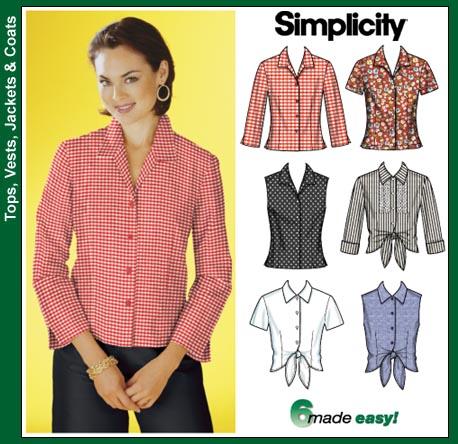 Simplicity Shirt 7086