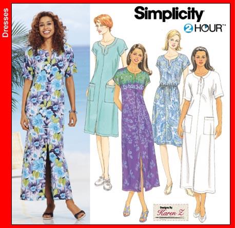 Simplicity 2 hour Dress 7218