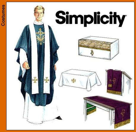 Simplicity Clerical Vestments 7950