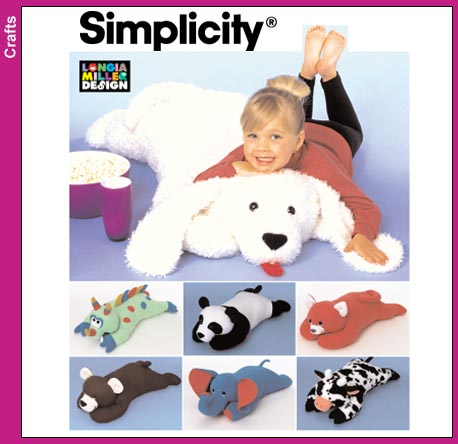 Simplicity 40 inch stuffed animal 8932