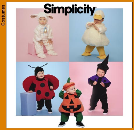 Simplicity Baby Costumes 9318