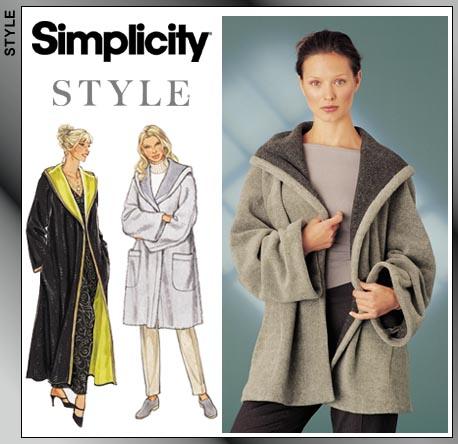 Simplicity Raincoat 9401
