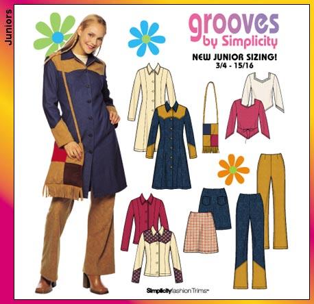 Simplicity juniors wardrobe 9474