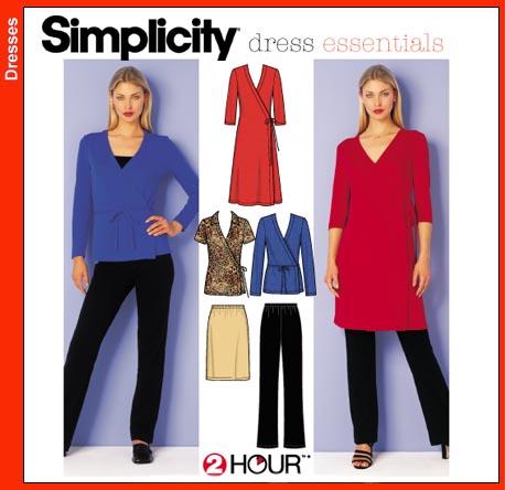 Simplicity 9482 2 Hour Dress Essentials 9482