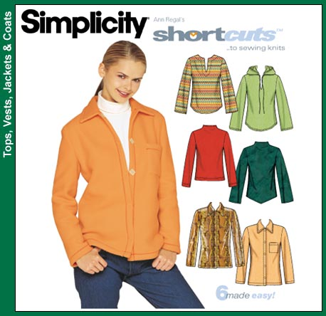 Simplicity knit tops 9513