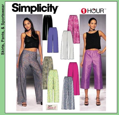 Simplicity 1 hour pants 9515