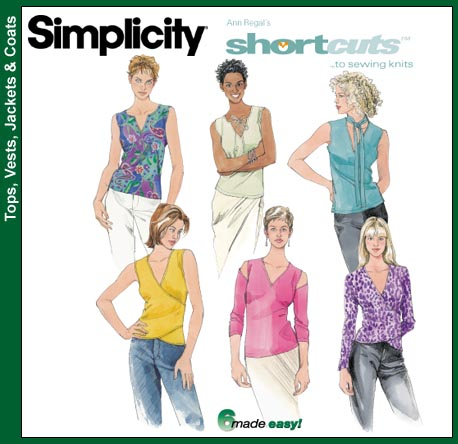 Simplicity Shortcuts To Sewing Knits 9567