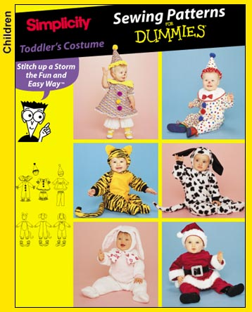 Simplicity tiger costume (view D) 9813