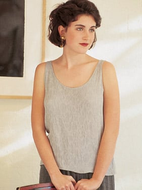 Textile Studio Tank Top and Shell 1203