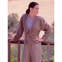 Textile Studio Shawl Collar Jacket