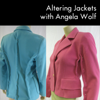 Take a class on PatternReview with Designer Angela Wolf: Altering RTW Jackets. Starts April 9