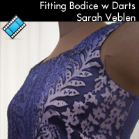 Fun with Fitting - BODICE w Darts