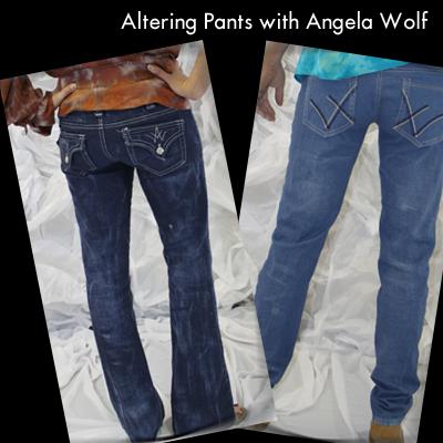 Altering Pants