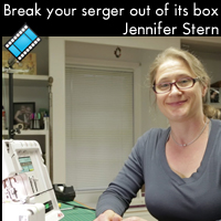 Break your Serger Out of the Box