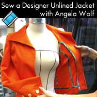 Sew a Designer Unlined Jacket