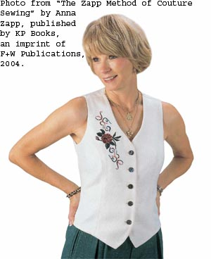 Free Knitting Pattern - Chunky Fur Zippered Vest from the Vests