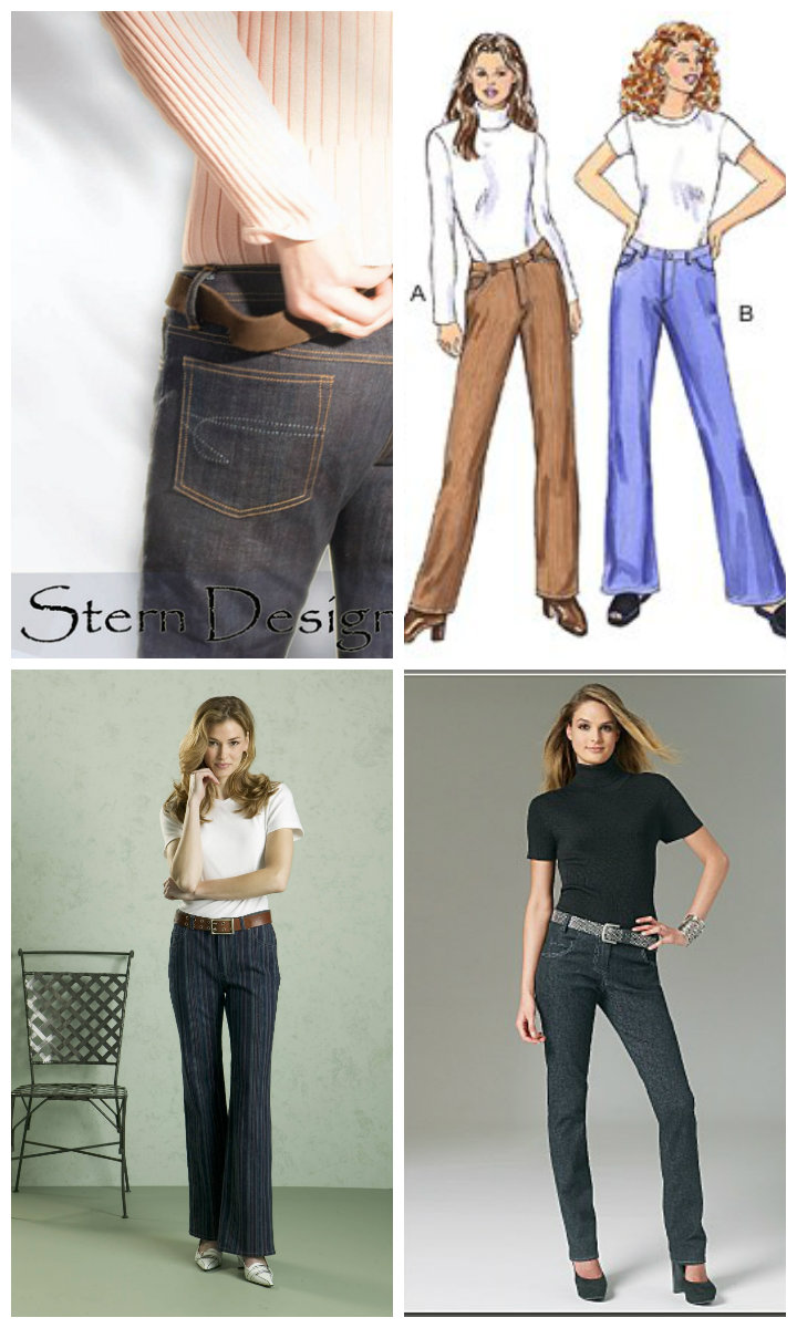 Highly Recommended Jeans Patterns
