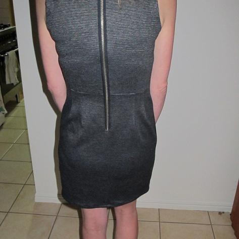 Vogue 1151 Back Exposed zipper