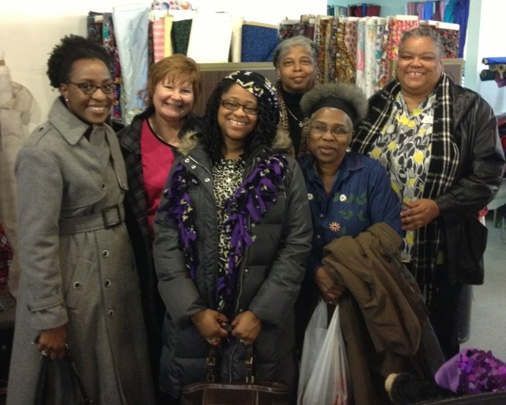 PR Day at A Fabric Place - group shot