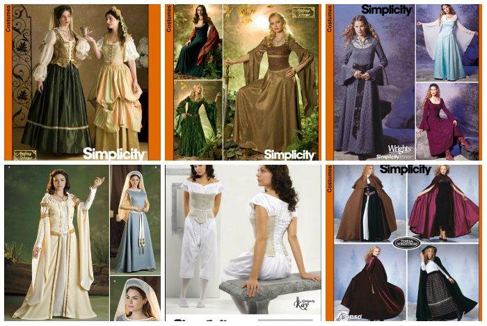 Tudor Costume Collage
