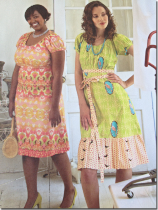 Kay Whitt's Sew Serendipity: Fresh and Pretty Designs to Make and Wear - Dresses