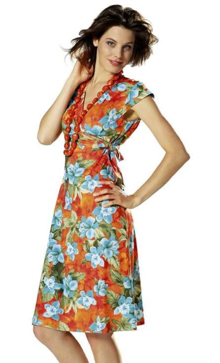 Burda 7828 Misses' Dress, Top