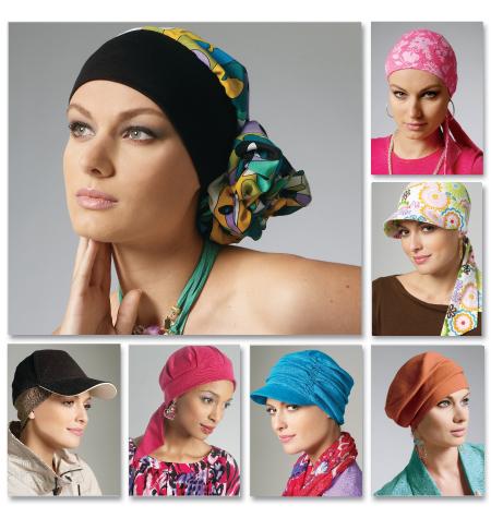 McCall's 6521 Headband, Head Wraps and Hats