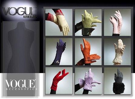 Vogue Patterns 8311 Gloves