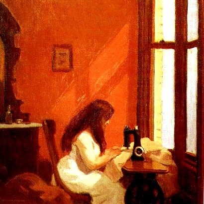 Girl_at_Sewing_Machine_by_Edward_Hopper