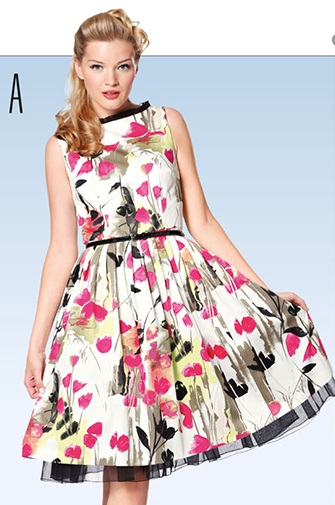 Burda 7054 Dress