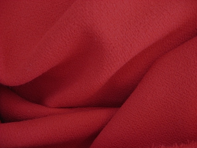 RED NOVELTY WOOL